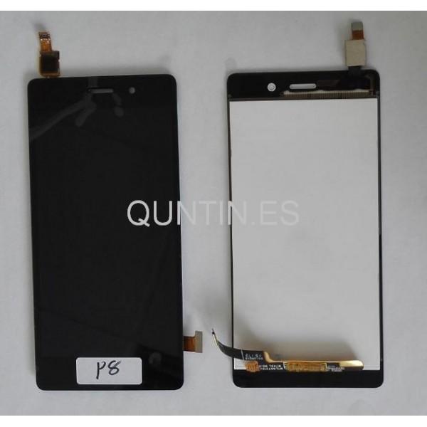 Huawei Ascend P8 LITE ALE-L21 Pantalla complta táctil+LCD negra