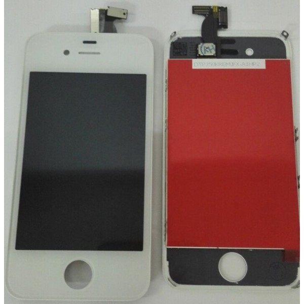 IPHONE 4S TOUCH+LCD WHITE PANTALLA COMPLETA