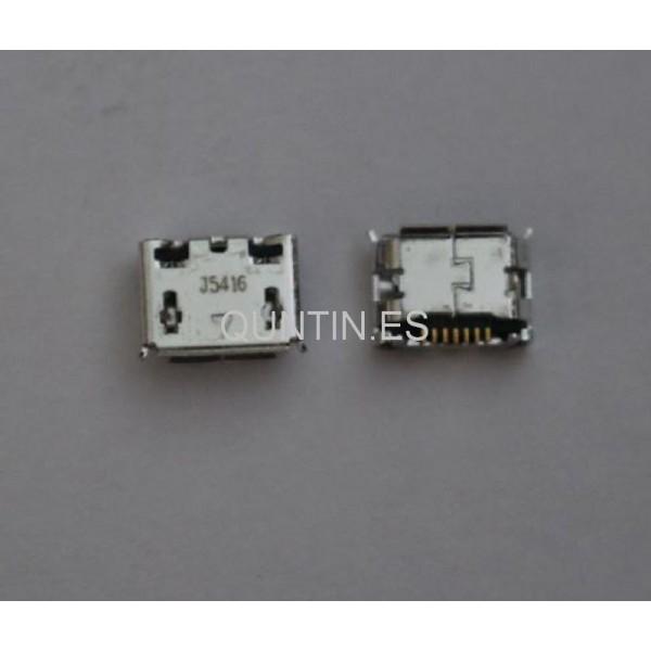 Conector Micro USB de Samsung I9100,I5500,I5508,S3650,S5560,S5600,S5603,C3730C,C5510U, S5230,C3300,C3730,B3310,S5360,B5510