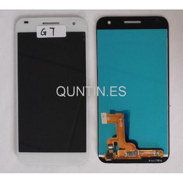 Huawei G7 pantalla completa tactil+lcd blanco