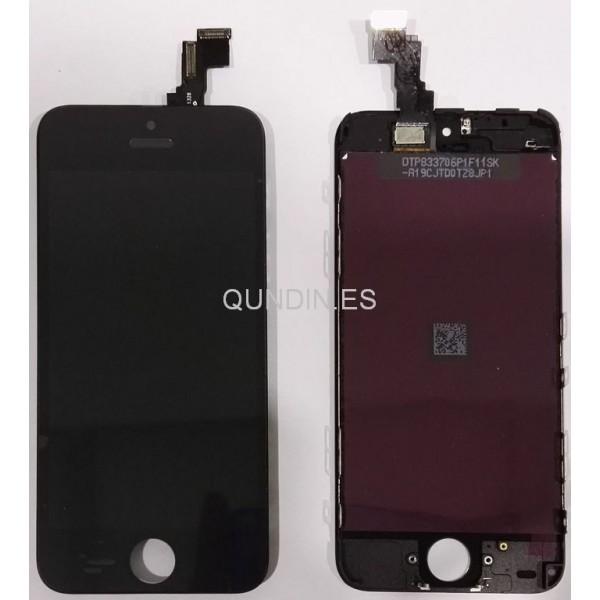 iphone 5c tactil+lcd negro pantalla completa