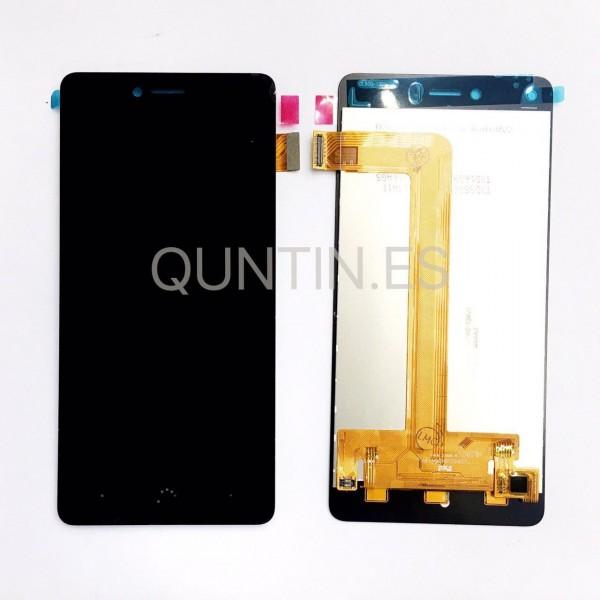 BQ Aquaris U, U Lite  pantalla completa negra