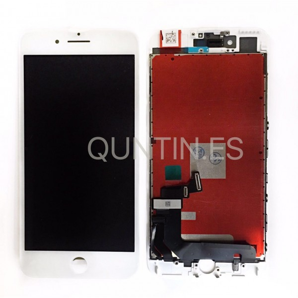 IPhone 7 plus Pantalla completa blanca LCD + tactil  compatible