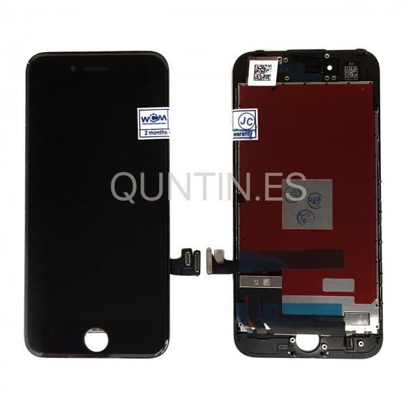 iPhone 7, 7G Pantalla completa NEGRA LCD + tactil  compatible