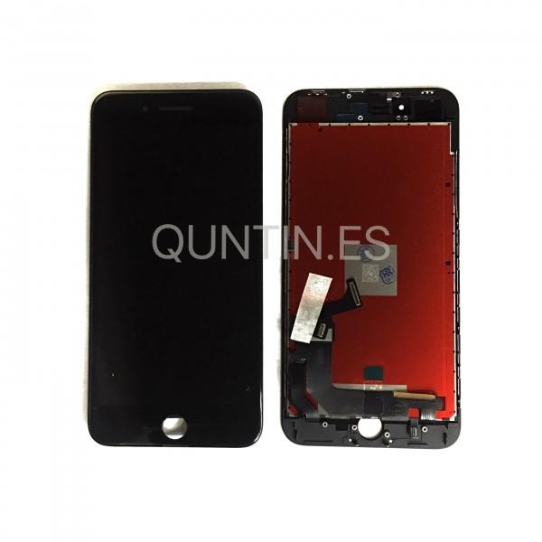 iPhone 8 plus pantalla completa negra compatible