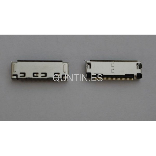 Conector Micro USB de Samsung tab p1000,p3100,p5200