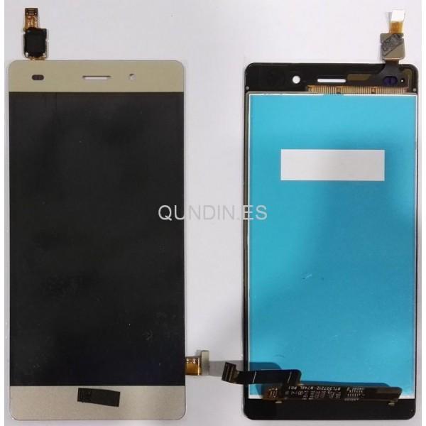 Huawei Ascend P8 LITE Pantalla complta táctil+LCD oro