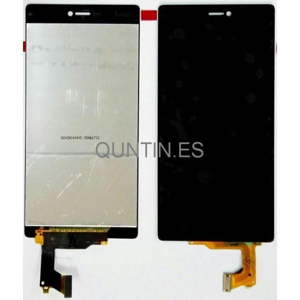 Huawei P8 pantalla completa negra