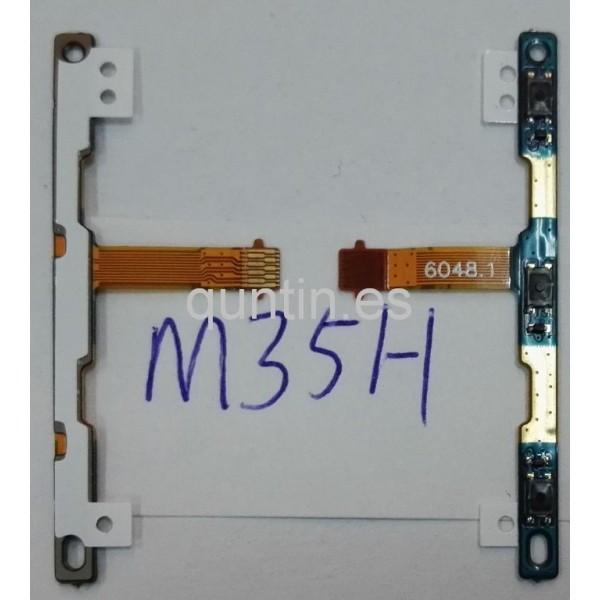 Flex de botones laterales de volumen Sony Xperia SP. M35H, C5303, C5302