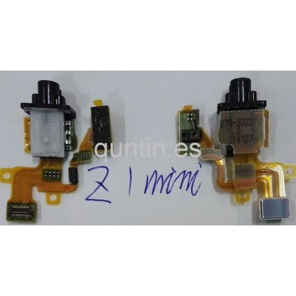 Flex con conector de audio, jack, manos libres y sensor de proximidad Sony Xperia Z1 Compact, Z1C, D5503, M51w