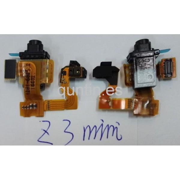 Cable Flex de sensor de luz y proximidad y micrófono para tablet Sony Xperia Z3 Compact, SGP611