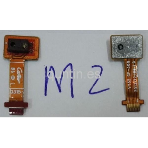 Flex con sensores de luz y proximidad Sony Xperia M2, D2303, D2305, D2306, M2 dual, D2302, S50H