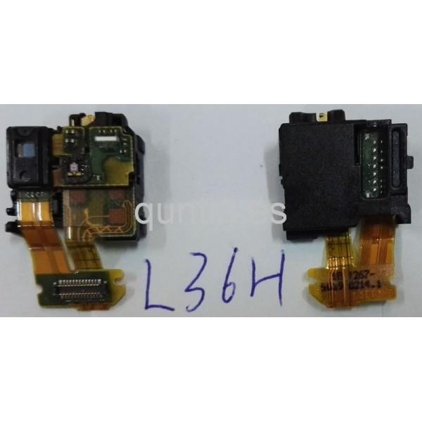 Flex con sensor de proximidad y conector de audio Jack Sony Xperia Z, L36H, C6602, C6603
