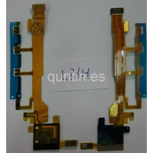 Flex de Botones Laterales Sony Xperia Z, L36H, C6602, C6603