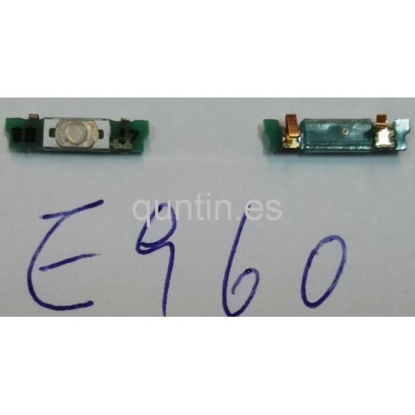 LG NEXUS 4 E960 placa de enciende
