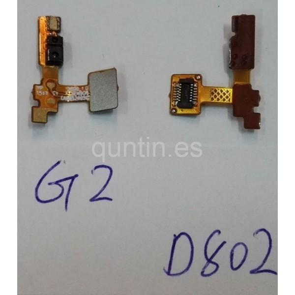LG G2 D802 flex de sensor