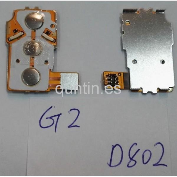 LG G2 D802 flex de enciende y volumen