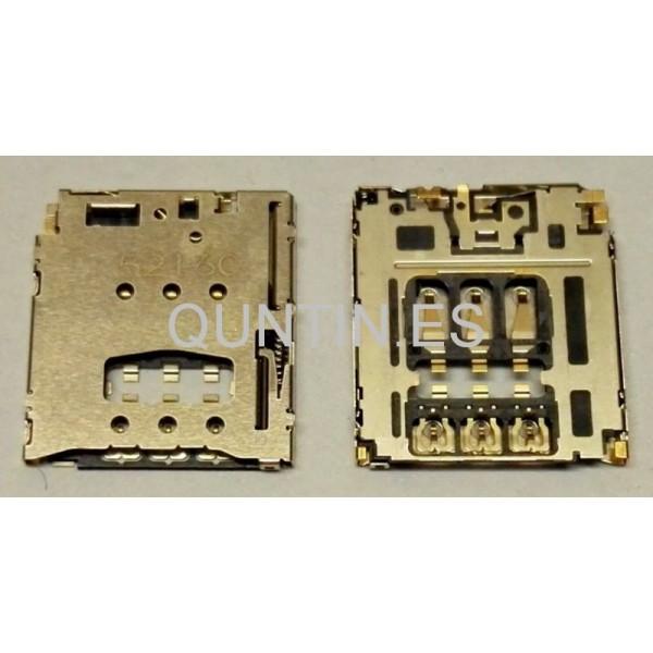 Conector de trajeta SIM para Sony M2,M2 aqua,sony T3,lenovo,Moto G2