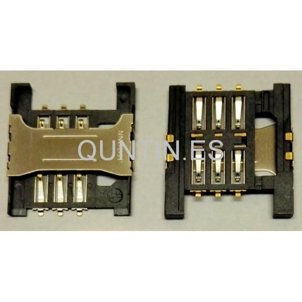 Universal Conector con lector de tarjeta SIM,sporte de SIM 01