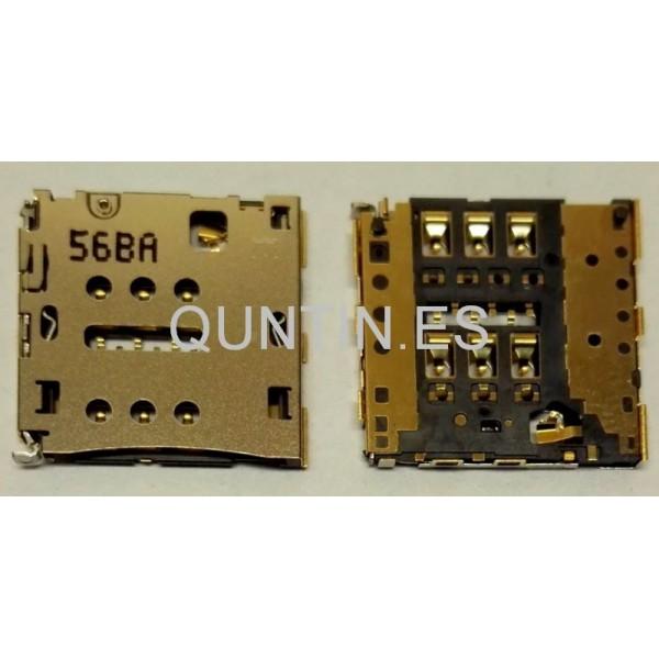 HUAWEI P7,MT7 HONOR X1 Conector con lector de tarjeta SIM