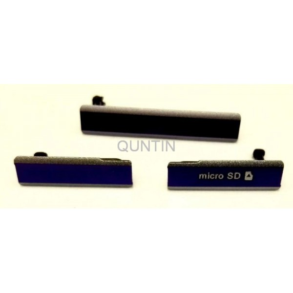 Sony Xperia Z1, C6902, C6903, C6906, C6943, L39H tapon violeta