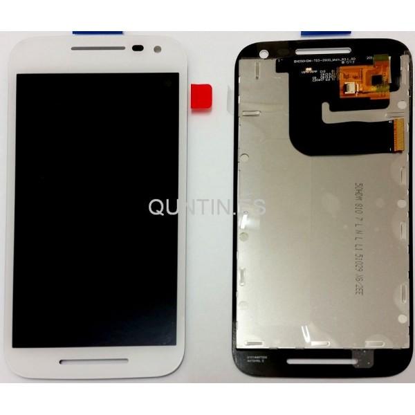 Motorola Moto G 3ª Gen,MOTO G3, XT1541 pantlla completa blanca