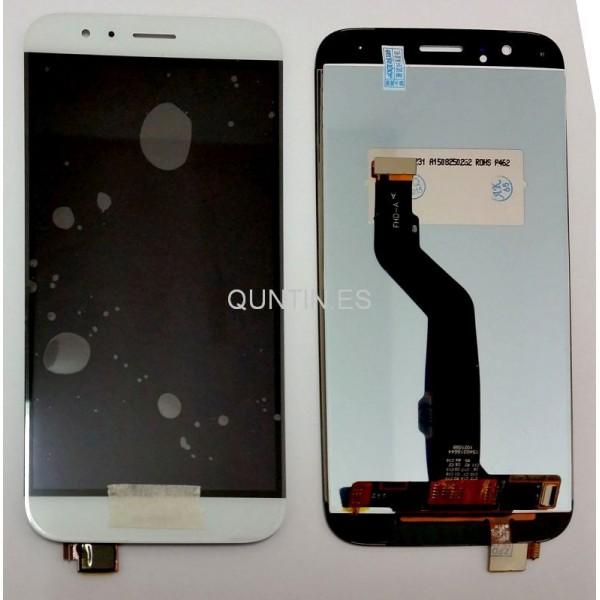 HUAWEI G8 pantalla completa blanca