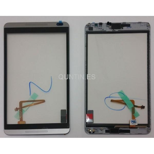 Huawei MediaPad M1 S8-310U,S8-301W,S8-301L pantalla tactil gris con marco gris
