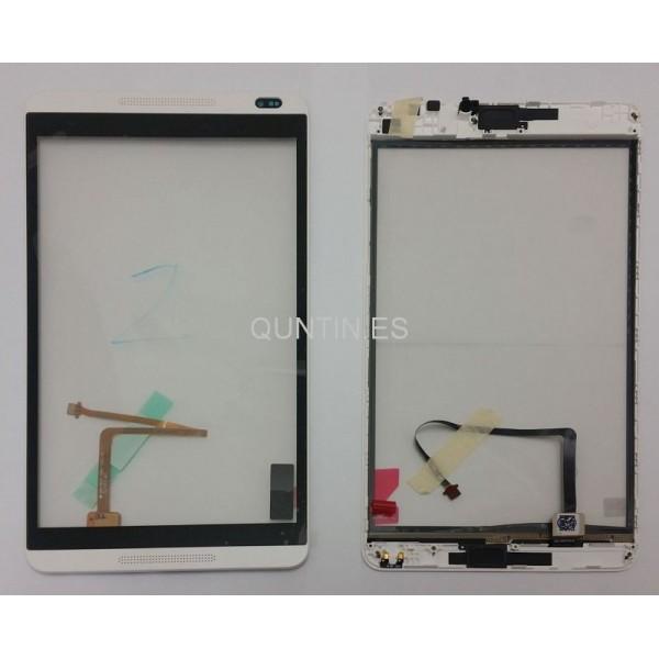 Huawei MediaPad M1 S8-310U,S8-301W,S8-301L pantalla tactil gris con marco blanca