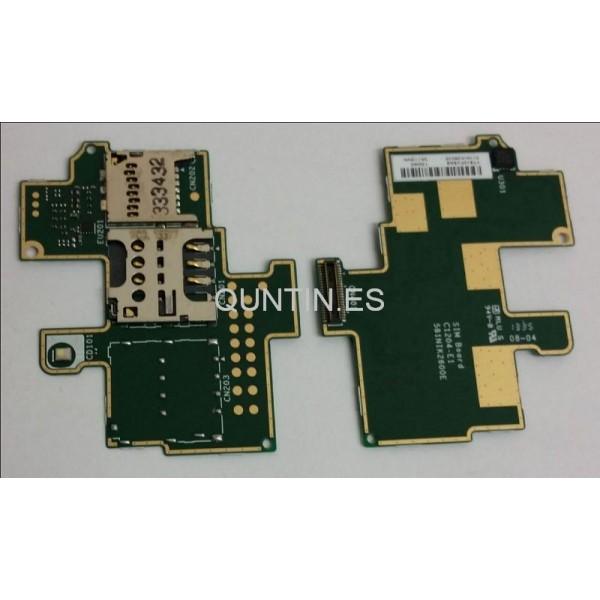 Sony Xperia M C1905 placa de lector SIM y micro SD