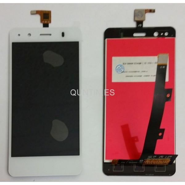 BQ Aquaris A4.5 pantalla completa blanca