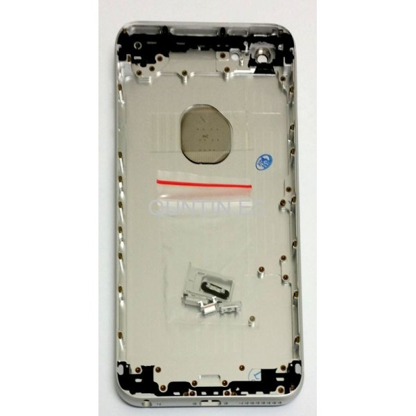 "iphone 6 plus 5.5"" carcasa plateada"