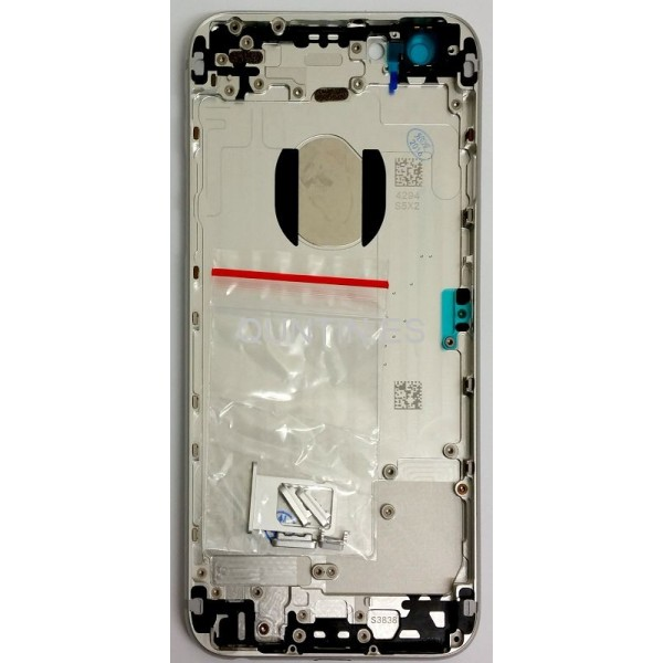 "iphone 6G 4.7"" carcasa plateada"