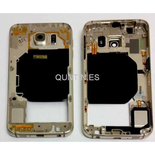 Samsung S6, G920f carcasa de central drada