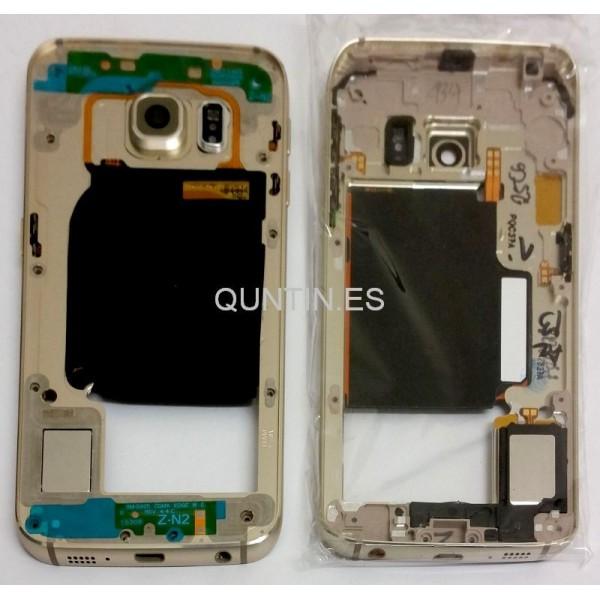 Samsung S6 Edge, G925F carcasa de central drada