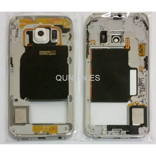 Samsung S6 Edge, G925F carcasa de central pleteada