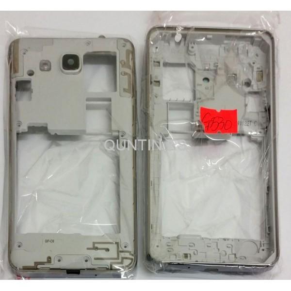 Samsung Grand Prime,G530 carcasa plateada