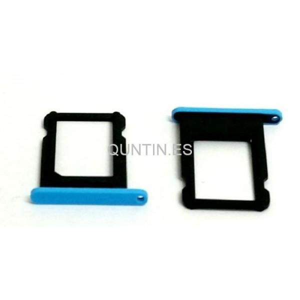 iphone 5C bandeja de SIM azul