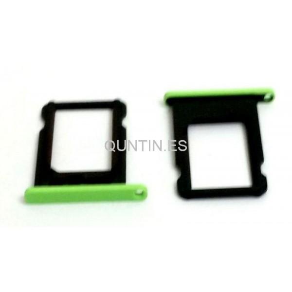 iphone 5C bandeja de SIM verde