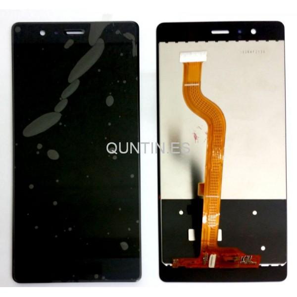 HUAWEI P9 pantalla completa negra