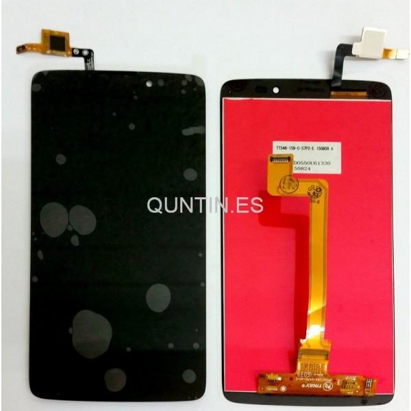 Alcatel idol 5.5, OT 6045 pantalla completa negra