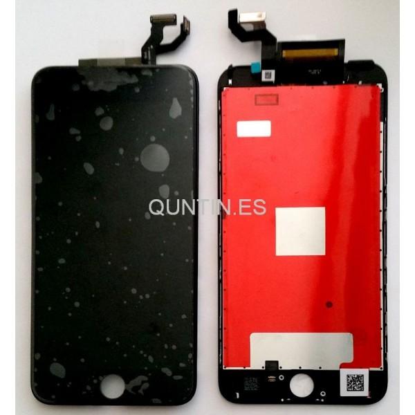 iphone 6s plus pantalla completa negra