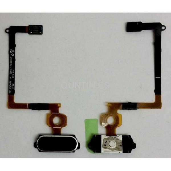 CABLE FLEX CON BOTON HOME EN AZUL  PARA SAMSUNG GALAXY S6, G920F