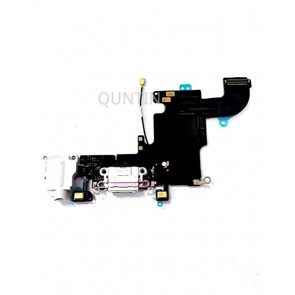 iPhone 6S, flex  de carga y accesorios, micrófonos y conector de audio blanco