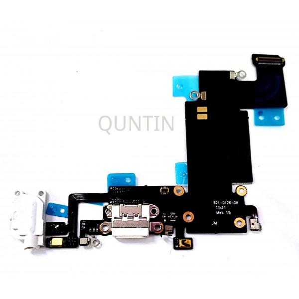 iPhone 6S Plus, flex  de carga y accesorios, micrófonos y conector de audio blanco