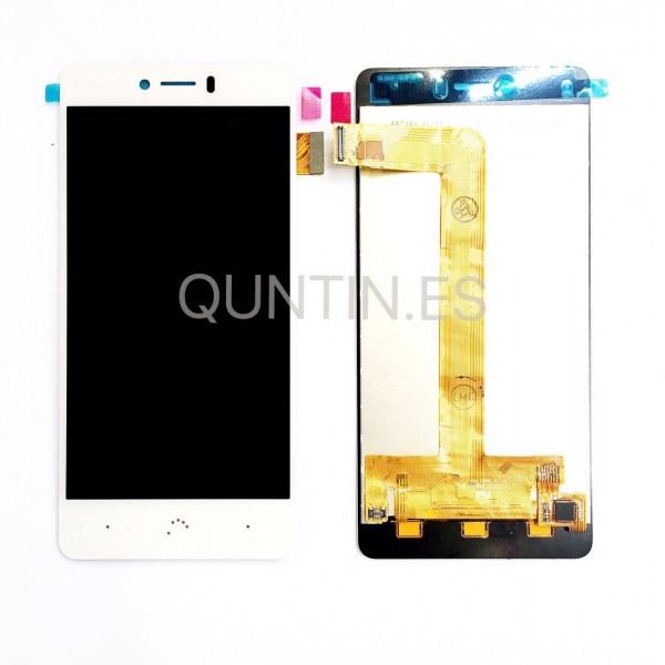 BQ Aquaris U, U Lite , U Plus pantalla completa blanca
