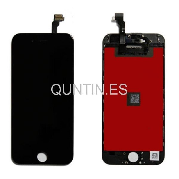 """iphone 6 4.7"""" pantalla completa negra (A)"""