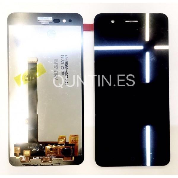 ZTE Blade A510 pantalla completa negra
