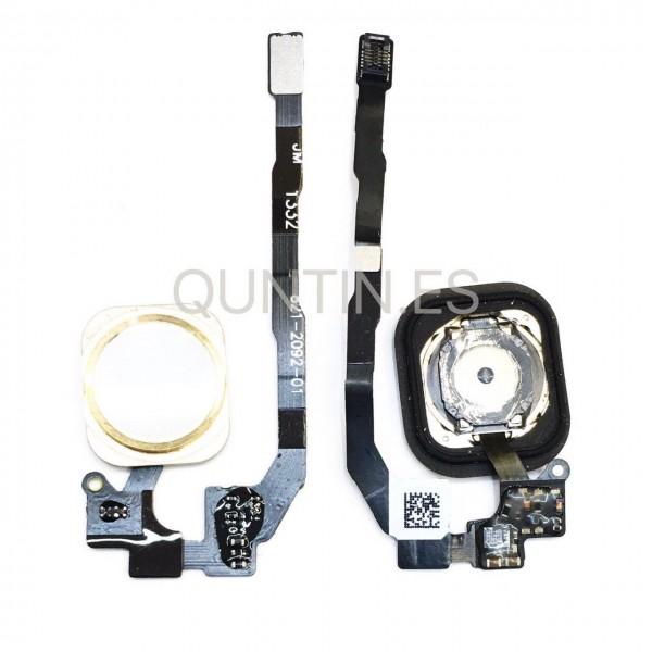 iphone 5s cable flex de HOME con boton dorado