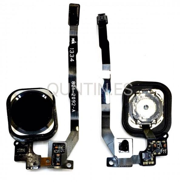 iphone 5s cable flex de HOME con boton negrao
